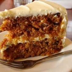 Best Ever Carrot Cake with Cream Cheese Icing