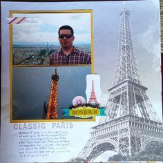 Cook Scrap Craft: Classic Paris Scrapbook Page