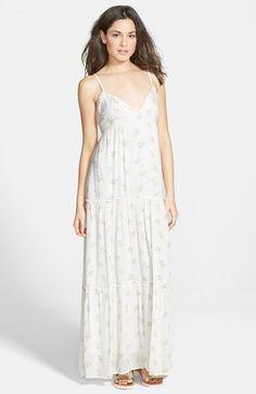 Billabong+'Sun+Lovin'+Woven+Maxi+Dress+available+at+#Nordstrom