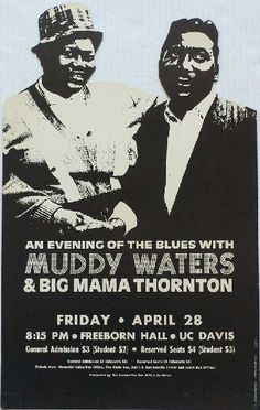 Muddy Waters #Big Mama Thornton apr
