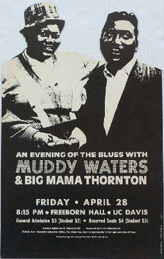 Muddy Waters #Big Mama Thornton apr