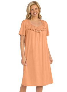Cotton Knit Nightgown  9.99