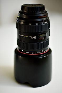 The importance of a camera lense hood!