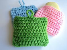 Cute Little Crafts: Free Crochet Pattern: 10 Minute Scrubber