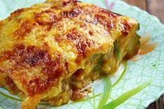 Dovlecei gratinați cu brânză și sos de roșii la cuptor - rețeta de parmigiana di zucchine | Savori Urbane