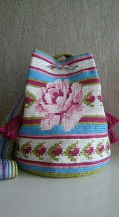 Jute Bags Online, Tapestry Crochet Patterns, Creative Bag, Crochet Sandals, Tapestry Bag, Contemporary Embroidery, Macrame Bag, Clutch, Knitted Bags