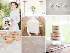 copper wedding ideas | copper colored weddings can be tricky to pull off pair
