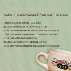 'Friends' Episodes To Watch For Every Mood You Are Going Through Friends Best Episodes, Friends Moments, Friends List, Friends Series, Friends Tv Show, Ouat Episodes, When Im Bored, Friend Memes, Music Tv