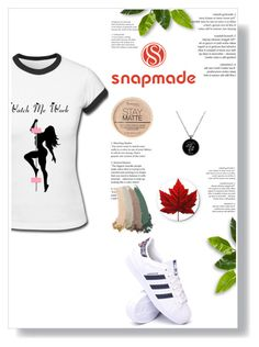 """""""snapmade"""" by sabine-rose ❤ liked on Polyvore featuring adidas, Rimmel and Gucci"""