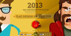 Flat Design vs Realism | The Webby Awards