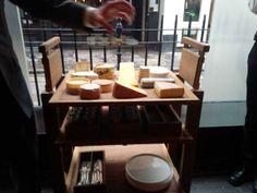 Cheese board at Pollen St Social by @_JasonAtherton