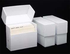 I like these boxes because they are simple and look modern. I think they would look good anywhere.