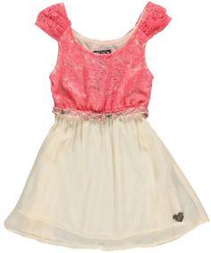 XOXO Girls Pink & Ivory Crochet & Chiffon Belted Dress (4) XOXO http://www.amazon.com/dp/B00IVATQRY/ref=cm_sw_r_pi_dp_MD9.tb15Q8QWB