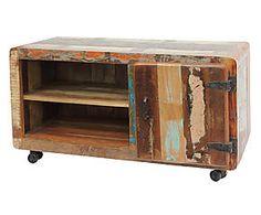 Mueble de tv en madera reciclada Columbia