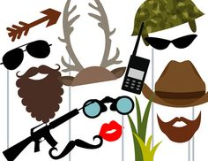 Camo Hunting Photo booth Props Camo Hunting Baby by TheLastCandy