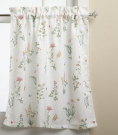 Lorraine Home Fashions English Garden 55-inch x 36-inch Tier Curtain Pair, White/Multi by Lorraine Home Fashions. $14.99. : Machine wash, cold water, gentle cycle; No bleach; Line dry; Warm iron if necessary. Measures 55-inch x 36-inch. Measures 55-Inch by 36-Inch. Fabric content: 100-percent polyester. Machine wash, cold water, gentle cycle; no bleach; line dry; warm iron if necessary. Delightful butterflies flutter among colorful floral displays on this charming ...