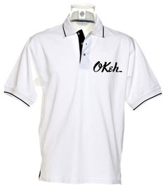Northern Soul Tipped Polo Shirt - Okeh Records Logo - Soul boys love #style and soul boy style doesn't get much better than this!