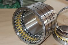 Four Row Cylindrical Roller Bearing Rolling Mill, Roll Neck, The Row, Rings For Men, Wedding Rings, Bear, Engagement Rings, Enagement Rings, Men Rings