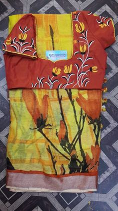 Hand Embroidery Dress, Embroidery On Kurtis, Kurti Embroidery Design, Embroidery Works, Embroidery Fashion, Embroidery Blouses, Patch Work Blouse Designs, Best Blouse Designs, Hand Work Blouse Design