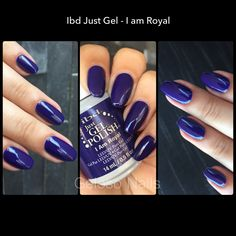 Ibd Just Gel I am Royal