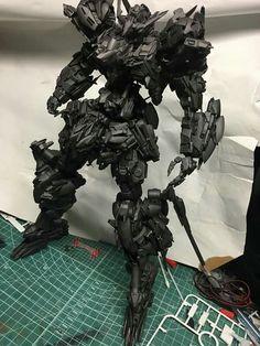 Gundam barbatos scratchbuild                                                                                                                                                                                 More