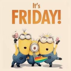 Happy Friday everyone! What are your plans for this weekend? #FunFriday #TGIF