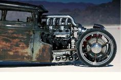 You know that engine makes a pretty sound. #HotRod #Custom #Power #Style #Design #Cool