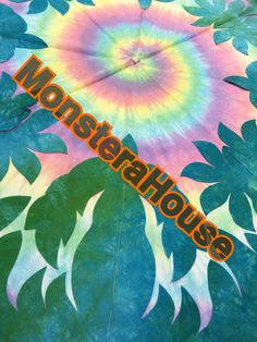 MonsteraHouse ハワイアンキルト ああ、新しいの始めてしまいました