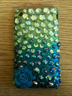Jazz up your iPhone cover! I used stick-on rhinestones from Michaels Arts and Crafts Store on my hard iPhone cover. I like that phone case, even without the rhinestones..