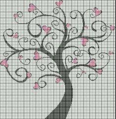 whimsical love tree