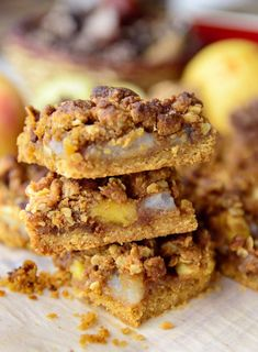 Apple and Pear Crumb