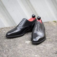 The Wallingford II in Black Calf. A classic shoe with a modern