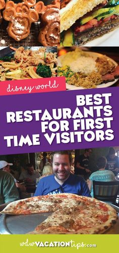 Best Disney World Restaurants for First Time Visitors Walt Disney World, Best Disney World Restaurants, Disney World Food, Disney World Resorts, Disney Vacations, Disney Travel, Disney Parks, Disney Worlds, Family Vacations