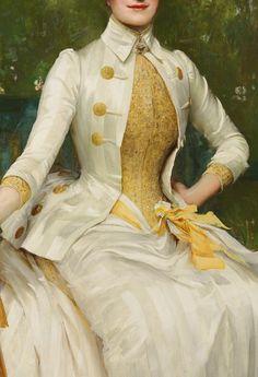 Portrait of a Lady by Sir Samuel Luke Fildes