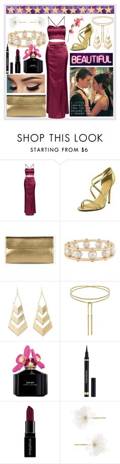 """""""Prom!"""" by harbour-road ❤ liked on Polyvore featuring Truly Madly Deeply, NLY Eve, Ivanka Trump, Maison Margiela, Lele Sadoughi, Charlotte Russe, Marc Jacobs, Yves Saint Laurent, Smashbox and Accessorize"""