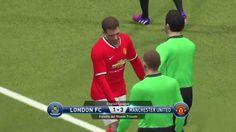 PES 2015 - Chelsea vs Manchester United