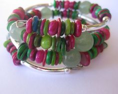Memory Wire Jewelry Memory Wire Bangle Mother by lizbriggsdesigns, $32.00