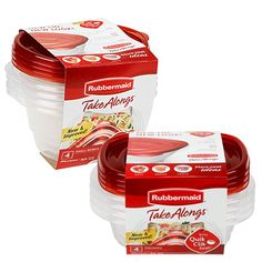 Rubbermaid® Take Alongs®, 4-Pack at Big Lots.