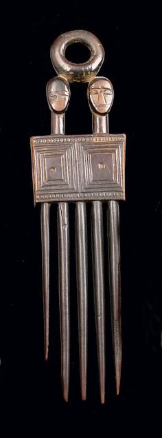 Africa | Comb from the Ivory Coast | Wood