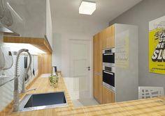 Kuchyně v paneláku rekonstrukce   AŤÁK DESIGN