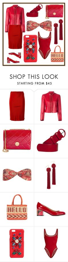 """set for amazing"" by denisee-denisee ❤ liked on Polyvore featuring A.F. Vandevorst, Fendi, Marc Jacobs, Oscar de la Renta, Lygia & Nanny, Vanessa Mooney, Nannacay, L'Autre Chose, Dolce&Gabbana and Norma Kamali"