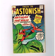 TALES TO ASTONISH #44 Silver Age find from Marvel starring Giant-Man & Wasp!  http://www.ebay.com/itm/TALES-ASTONISH-44-Silver-Age-find-Marvel-starring-Giant-Man-Wasp-/301533499930?roken=cUgayN&soutkn=a4BEvP