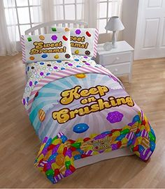 Candy Crush Keep Crushing Comforter TwinFull * Check out the image by visiting the link.