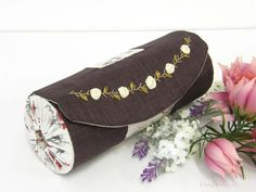 Make-up  Case – Pencil Case- Cosmetic Pouch- Storage Case- Jewelry Pouch- Bridesmaid Gift Idea