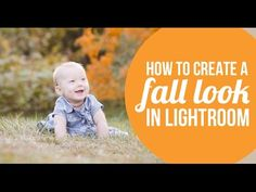 How to create a fall look in Lightroom - Lightroom tutorial. Two Blooms Lightroom Presets. http://youtu.be/VY3XwEIeig4