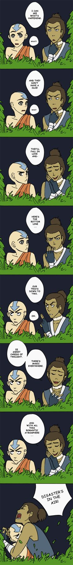 Sokka Feels the Love by beanaroony.deviantart.com