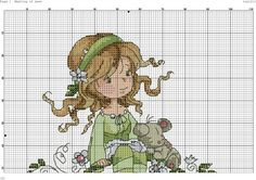 Meeting of dawn 1 Fantasy Cross Stitch, Cross Stitch Fairy, Counted Cross Stitch Patterns, Cartoon Styles, Little People, Cross Stitching, Embroidery, Crafts, Wall Photos
