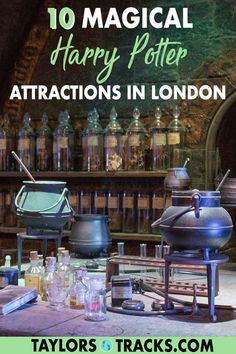 Harry Potter fans it's time to grab your wands, these Harry Potter things to do in London include a potions class, muggle walking tours and more. For a fun weekend in London click to find the top Harry Potter attractions in London! #harrypotter #london #europe #travel