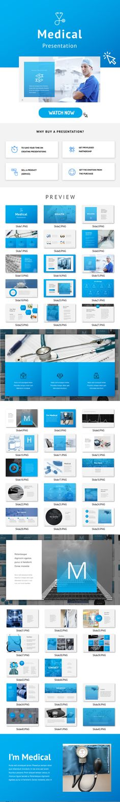 Medical  Google Slides — Google Slides PPTX #company #blue • Download ➝ https://graphicriver.net/item/medical-google-slides/19917009?ref=pxcr