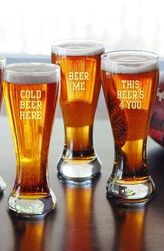 Handblown Beer Glasses (Set of 4) | Nordstrom, Would these make a good gift? http://keep.com/handblown-beer-glasses-set-of-4-no-by-dimak89/k/0NG9OOABLP/